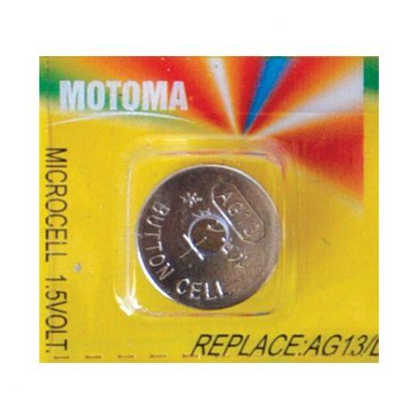 Battery     AG13 (LR44) MOTOMA alkaline