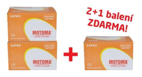 Ultra Alkaline AAA (R03) MOTOMA