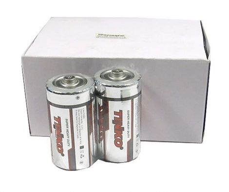 Battery C (R14) Zn-Cl TINKO pack of 24pcs