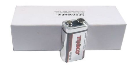 Battery 6F22 (9V) Zn-Cl TINKO 10pcs