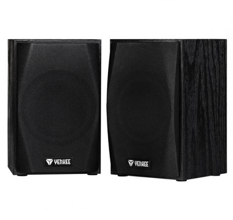 YENKEE 2.0 YSP 2010BK PC Speaker USB, wood, black