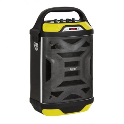 QUER Portable active speaker system with built-in MP3 player and Karaoke function Quer KOM0875
