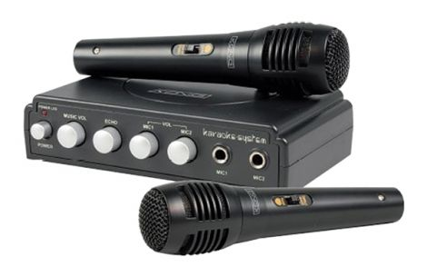 Karaoke set KÖNIG HAV-KM11 black