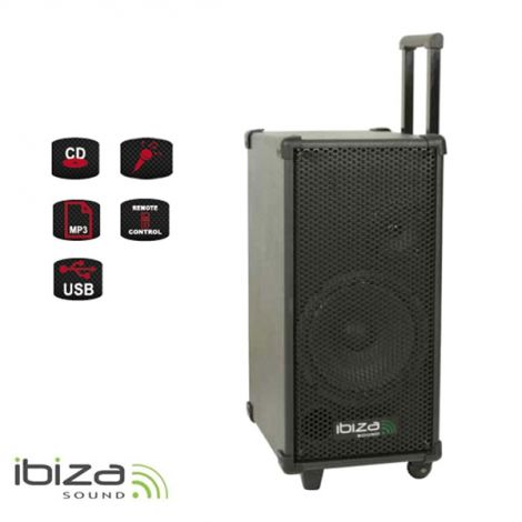 Karaoke speaker system IBIZA PORT 8MINI portable