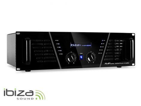 Amplifier IBIZA 2x800W AMP1000 black