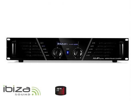 Amplifier IBIZA 2x240W AMP300 black