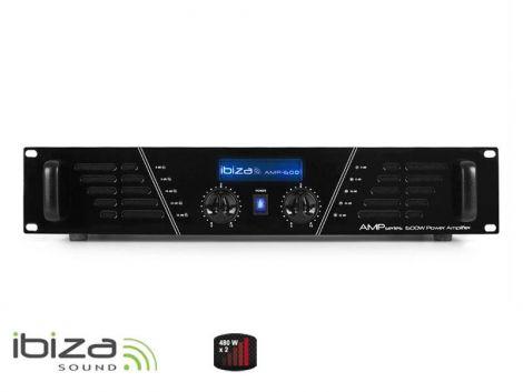 Amplifier IBIZA 2x480W AMP600 black