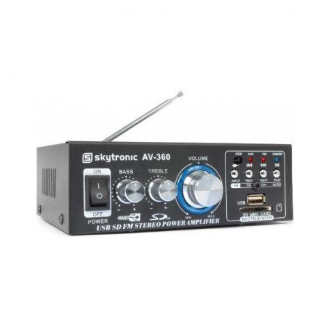 Ενισχυτής HiFi 2x 40W FM / USB / SD SKYTEC