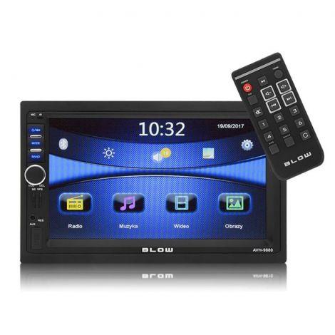 Car Radio BLOW AVH-9880 MP3, USB, SD, MMC, FM, GPS, BLUETOOTH + remote control