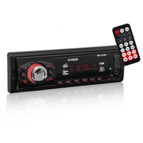 Car Radio BLOW AVH-8626 MP3, USB, SD, MMC, FM, BLUETOOTH + remote control
