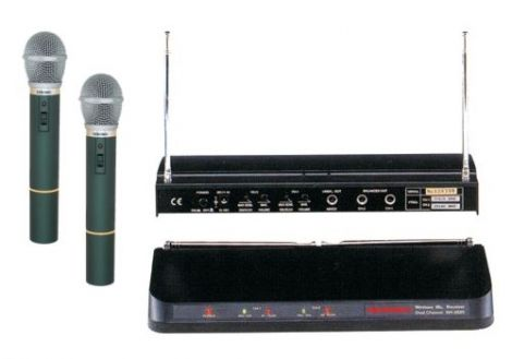 Microphone wireless WR202R+2xVXM286TS