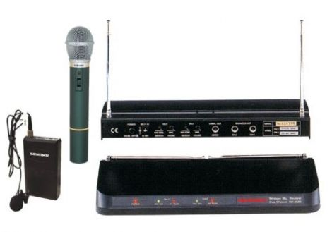 SHOW Microphone wireless WR202R+VXM286+WT203P