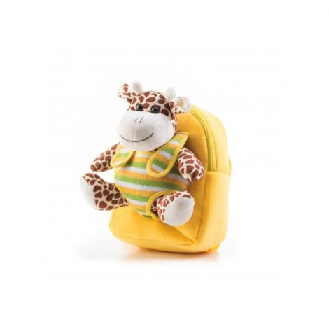 Backpack G21 GIRAFFE yellow