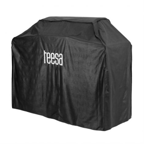 Gas grill cover with 3 burners