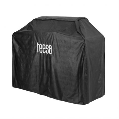 TEESA gas grill cover with 5 burners