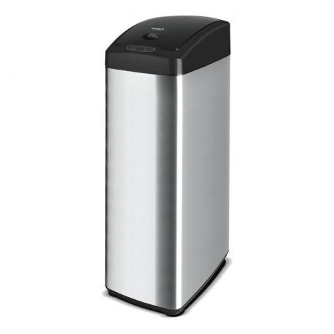 LAMART LT8049 Non-contact 45L sensor touchless dust bin (silver)