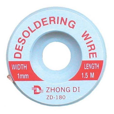Desoldering wire 1mm/1,5m