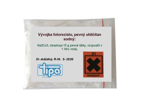 Chemistry of Photec 2050 Negative Photoresite (Solid Sodium Carbonate)