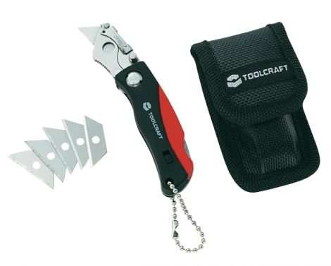 Mini quick change lock-back utility knife