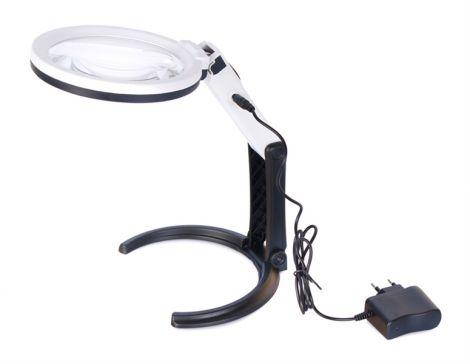 LEVENHUK Magnifying glass table LEVENHUK ZENO DESK D7 + LED lighting