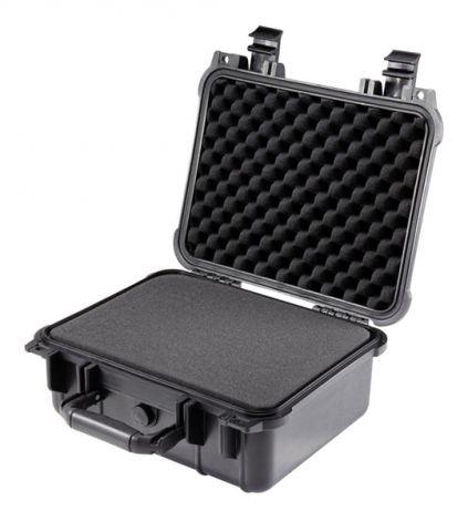 Case waterproof Basetech 1310219  350 x 295 x 150 mm black
