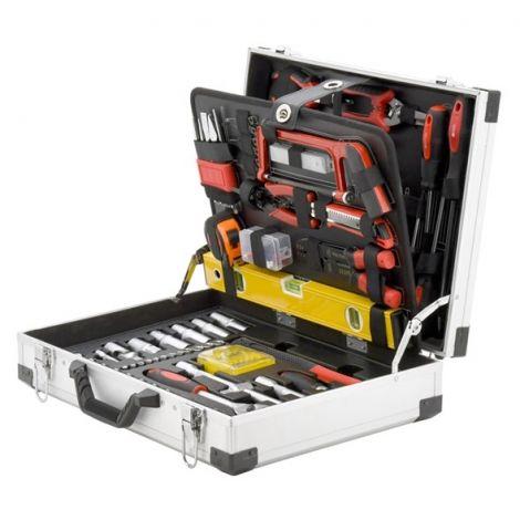 Tool case 139 parts, ALU PROFI