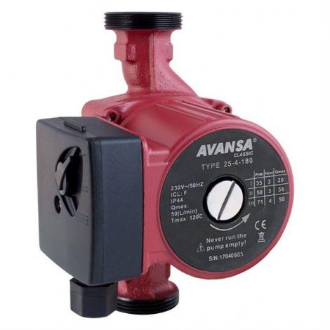 Circulation pump AVANSA 25/4/180