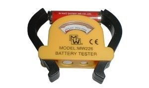 Battery tester MW226