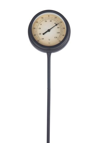 Thermometer metal 50x15cm