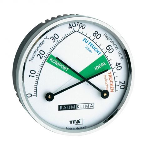 Analogue Thermometer/ Hygrometer