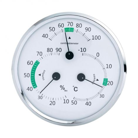 Analogue Thermometer/ Hygrometer / Comfort Meter