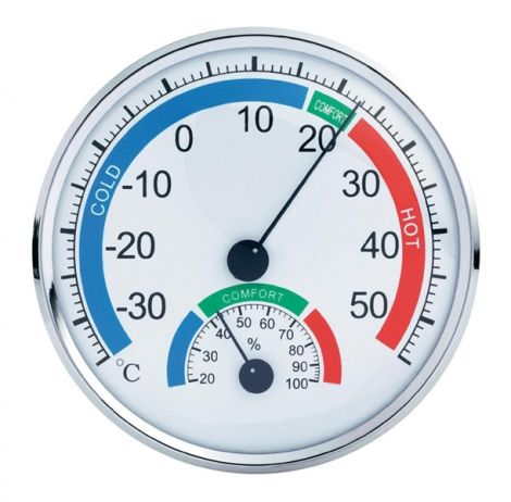 TH101E Analogue Thermometer/ Hygrometer Comfortmeter