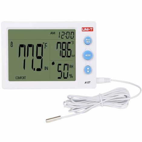 UNI-T thermometer  (A12T) White