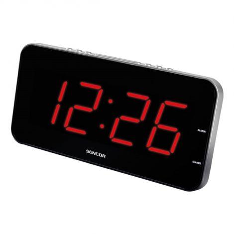 Ρολόι με ξυπνητήρι SENCOR SDC-130 RD