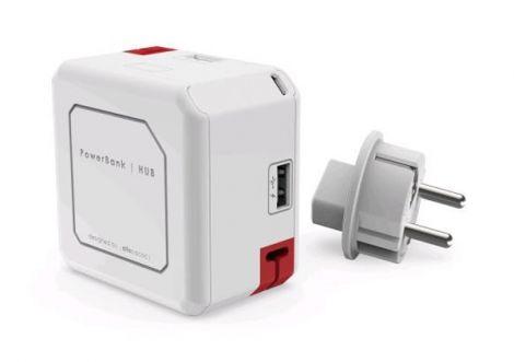 HUB PowerCube POWERUSB PORTABLE white