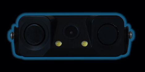 Parkovací kamera s výstupem na monitor 80° 2 senzory