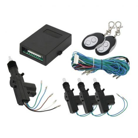 Central locking 3+1 door sensor 4.5 kg + 2x remote control