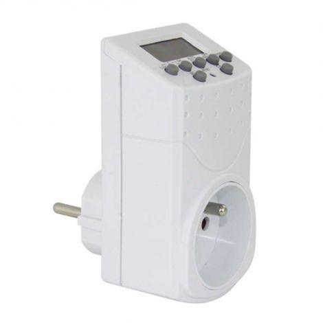 EMOS Timer - digital switching socket IP20