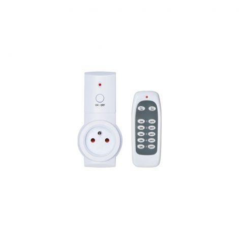 Remote control socket Geti 1+1 (3680W/16A)