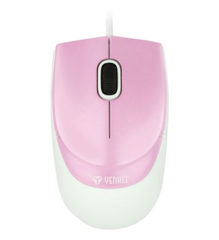 Myš YMS 1005PK USB Rio Pink YENKEE
