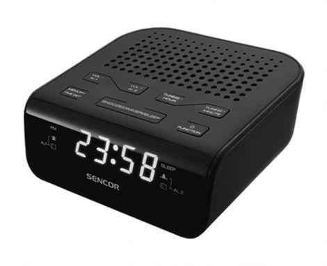 SENCOR radio alarm clock /black (SRC136 B)