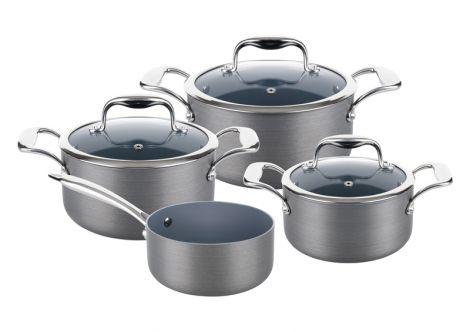 LAMART LTHSET7 HARD AL Aluminium cookware set 7pcs