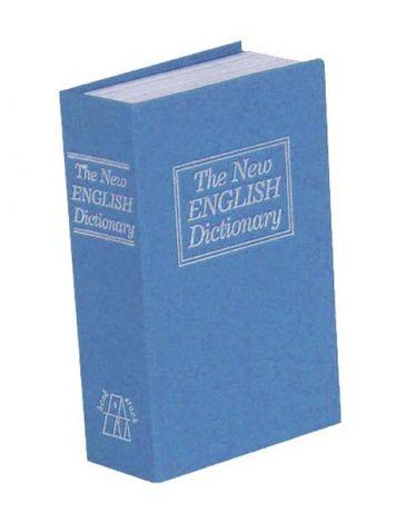Safe book 180 x 115 x 54 mm blue