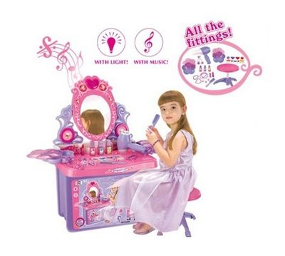 Table Cosmetic Child G21 with mirror and sound in boot