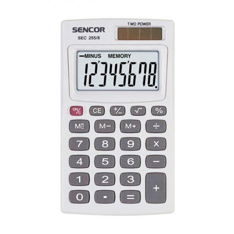 Kalkulátor kapesní SENCOR SEC 255/8 DUAL