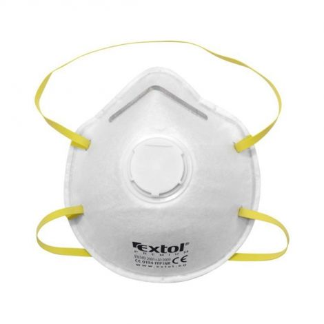 Αναπνευστήρας - μάσκα κατά της σκόνης με βαλβίδα εκπνοής FFP1, σετ 5 τεμαχίων, σε σχήμα,, EXTOL PREMIUM