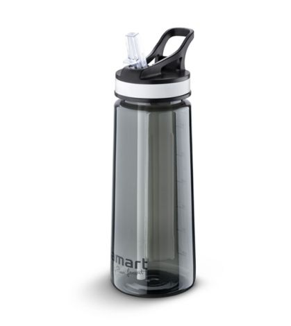Water bottle LAMART LT4033 650ML STRAW with straw and refrigerator