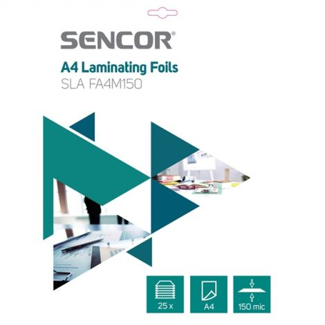 Laminating foil SLA-FA4M150 25ks