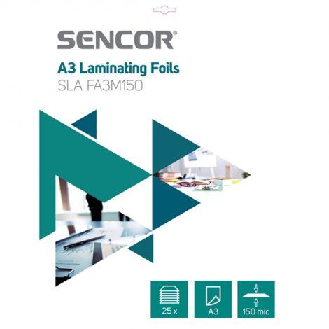 Laminating foil SLA FA3M150 A3 150mic 25ks