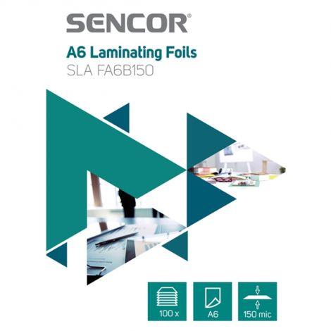 Laminating foil SLA FA6B150 A6 150mic 100ks